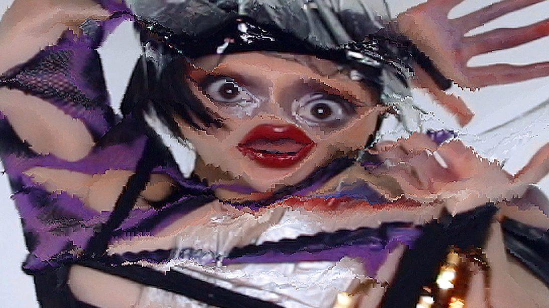 """still from music video for Arca's """"Mequetrefe"""""""