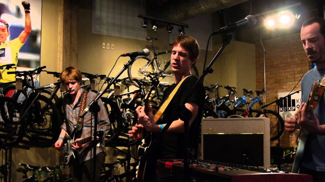 """Shearwater performing """"Animal Life"""" live on KEXP"""